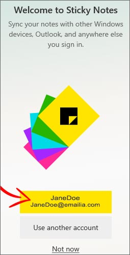 free download post it notes for windows 10